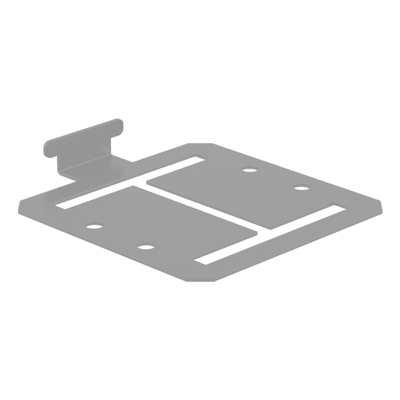 FM DuraPost 90° Capping Rail Bracket – Pack of 2
