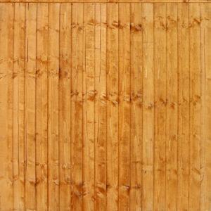 Gold Framed Closeboard Panels