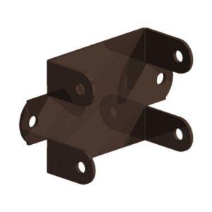 Brown Easy Use Panel Bracket