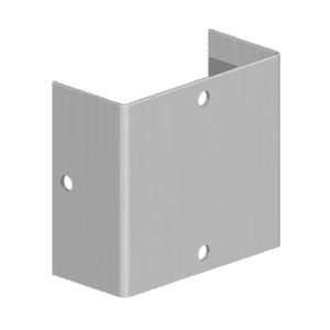 Galvanised Fence Panel Fixing Clip
