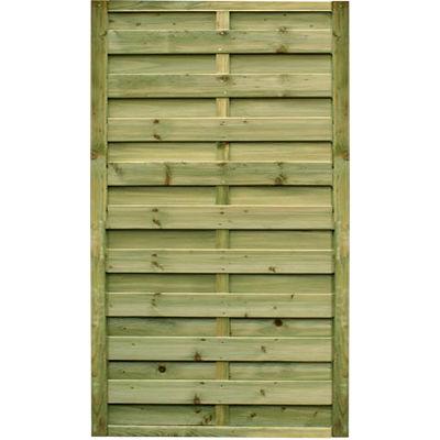 0.90m wide x 1.80m high Horizontal Gate – Pressure Treated Green