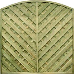 V Arched Panel