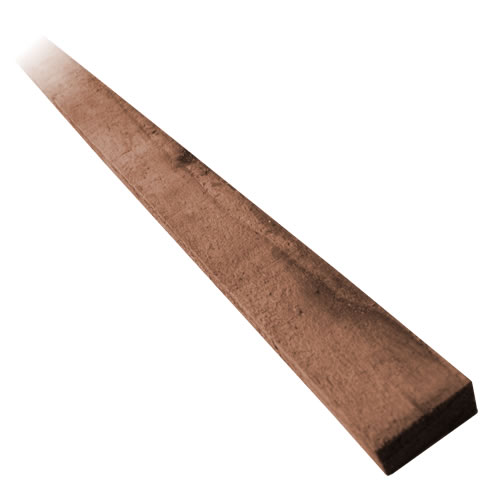 6ft Fencing Lath – Pressure Treated Brown