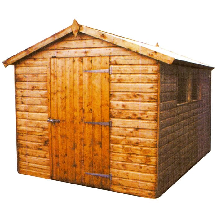 Tongue & Groove Shiplap Apex Shed