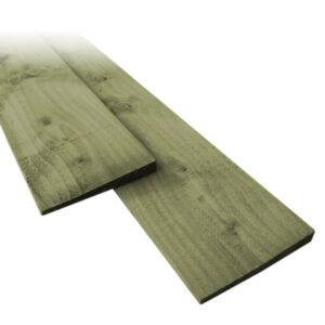 Green Featheredge Boards