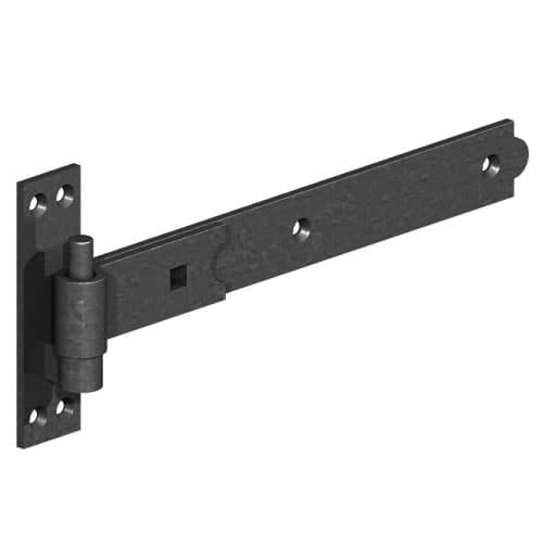 Hook & Band Hinges (per pair) – Black