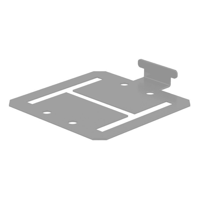 FM DuraPost In-line Capping Rail Bracket – Pack of 10