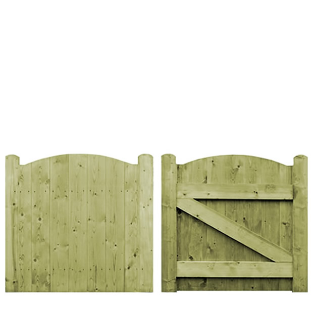0.9m Archill Elite Garden Gate – Pressure Treated