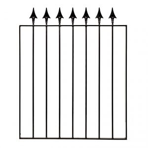 Spear Top Small Metal Gate