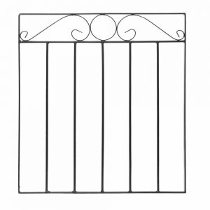 Swirl Top Small Metal Gate