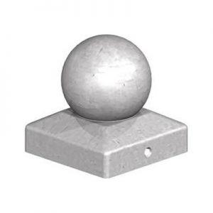 Galvanised Metal Ball Finial